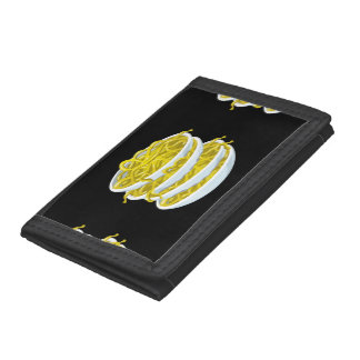 Glitch Food tangy noodles Trifold Wallet