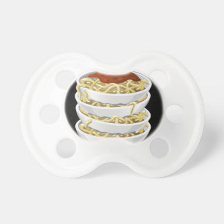 Glitch Food tasty pasta Baby Pacifiers