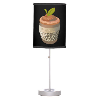 Glitch Food thimble berry Table Lamp