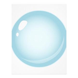 Glitch Food tiny bubble Letterhead