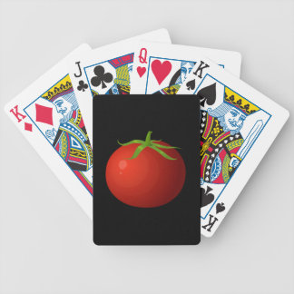 Glitch Food tomato Bicycle Playing Cards