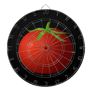 Glitch Food tomato Dartboard