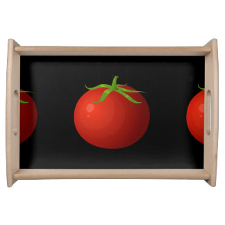 Glitch Food tomato Serving Tray