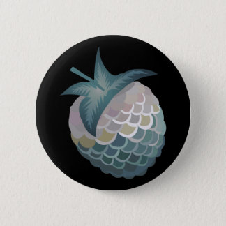 Glitch Food tuna berry 2 Inch Round Button