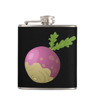 Glitch Food turnip Hip Flask