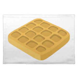 Glitch Food waffles Placemat