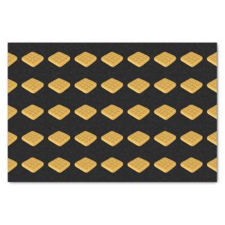 Glitch Food waffles Tissue Paper