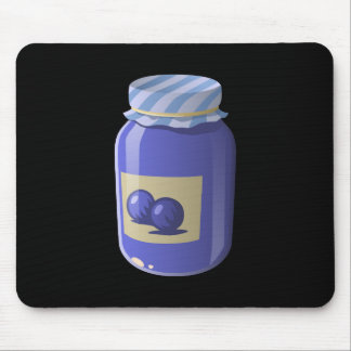 Glitch Food whortleberry jelly Mouse Pad