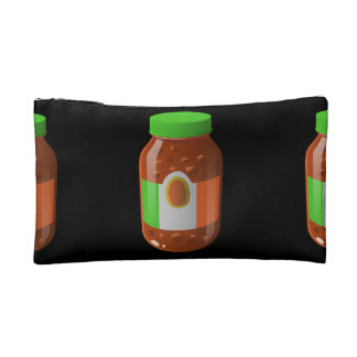 Glitch Food wicked bolognese sauce Cosmetic Bag