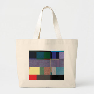 Glitch Number Eight Large Tote Bag