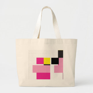 Glitch Number Four Large Tote Bag
