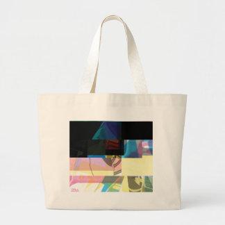 Glitch Number Six Large Tote Bag