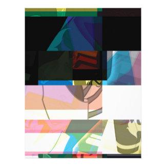 Glitch Number Six Letterhead Design