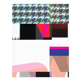 Glitch Number Three Letterhead Template