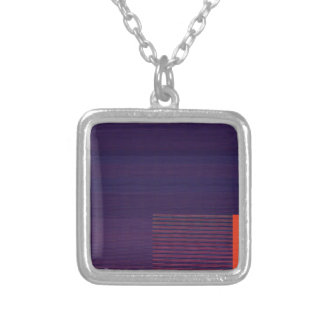 Glitch Number Two Silver Plated Necklace