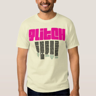 Glitch Pink - man, natural Shirts