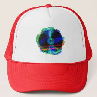 Glitched Record Hat