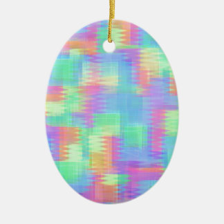 Glitchin Aint Easy Ceramic Ornament