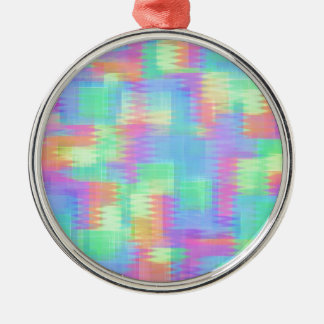 Glitchin Aint Easy Metal Ornament