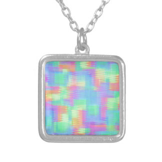 Glitchin Aint Easy Silver Plated Necklace