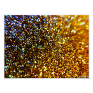 Glitter /Abstract Poster