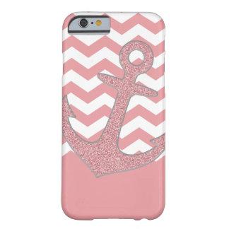 Glitter Anchor Iphone case Cute Pink