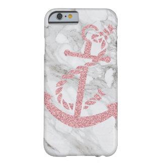 glitter anchor marble modern stylish iphone case