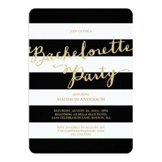 Glitter and Glam | Bachelorette Party Invitation