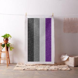 Glitter Asexual Pride Flag Fabric