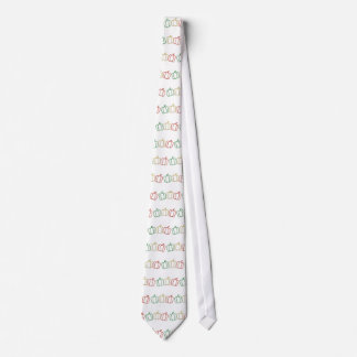Glitter Bell Peppers Tie