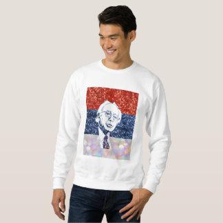 glitter bernie sanders mens sweatshirt