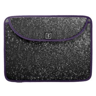 Glitter Black Shiny Sleeves For MacBooks