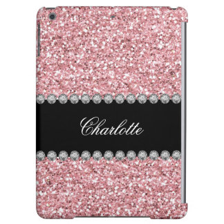 Glitter Bling Monogram Case For iPad Air