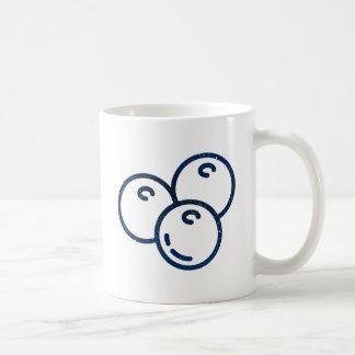 Glitter Blueberries Coffee Mug