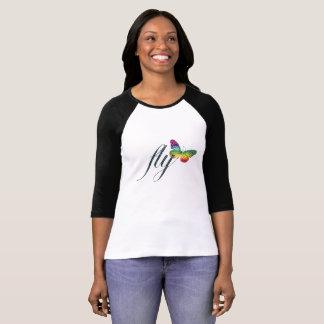 Glitter Butterfly T-Shirt