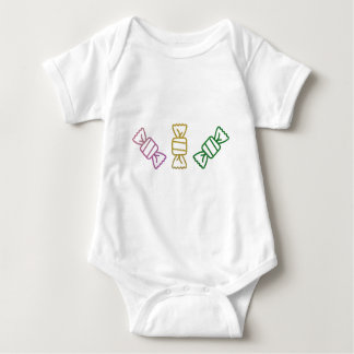 Glitter Candy Baby Bodysuit