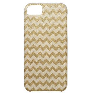 Glitter Chevron Cover For iPhone 5C