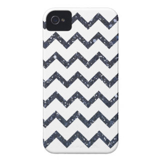 Glitter Chevron Pattern iPhone 4 Case