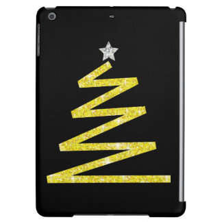 Glitter Christmas tree Cover For iPad Air