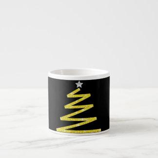 Glitter Christmas tree Espresso Cup