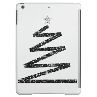 Glitter Christmas tree iPad Air Cases