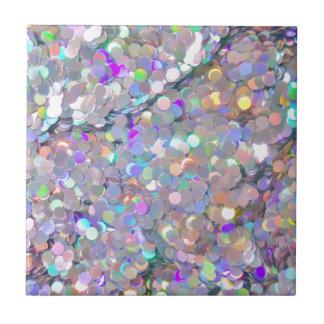 Glitter Confetti Sparkles Tile