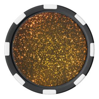 Glitter Diamond Poker Chips