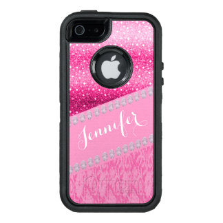Glitter Diamond Printed Otterbox Phone Case