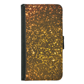 Glitter Diamond Samsung Galaxy S5 Wallet Case