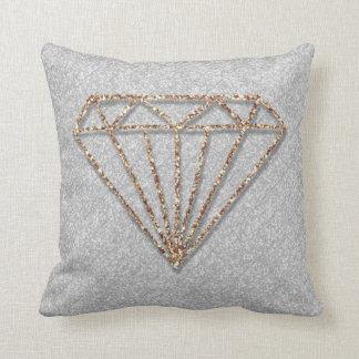 Glitter Diamond Throw Cushion