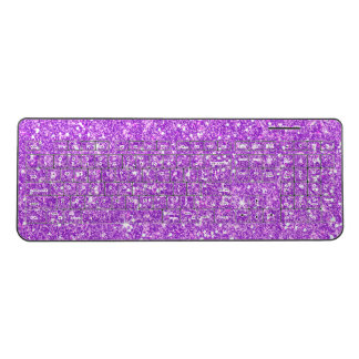 Glitter Diamond Wireless Keyboard