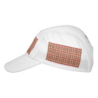 Glitter Earthtone Tartan Plaid Hat
