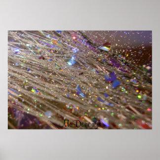 Glitter Explosion Poster