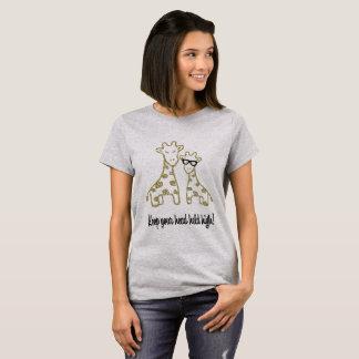 Glitter Giraffes T-Shirt